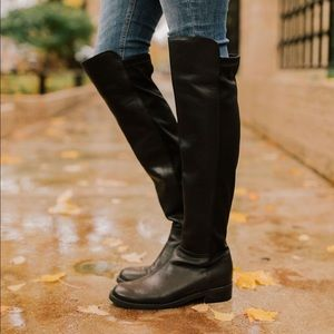 Blondo Velma leather waterproof over the knee boot